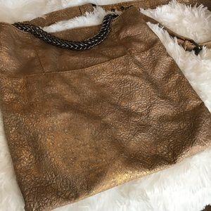 Metallic Gold Large Bag